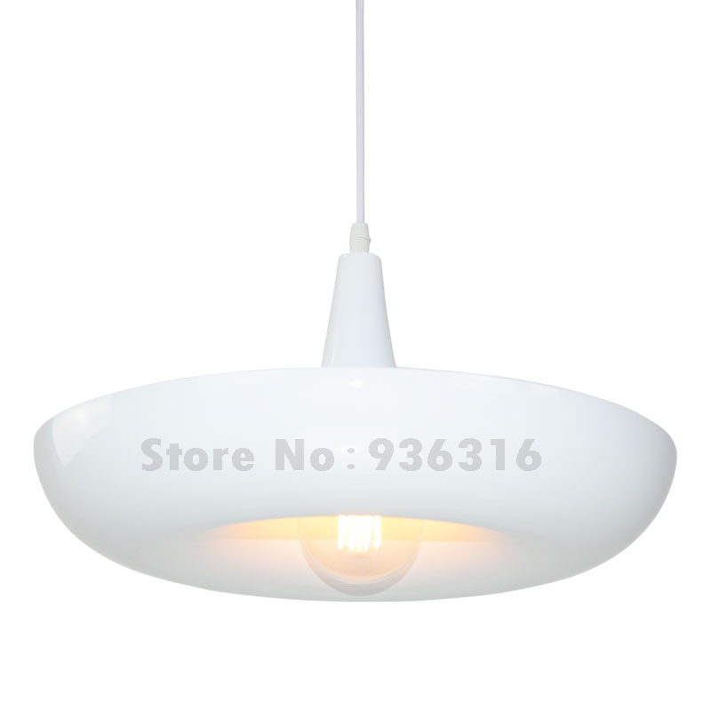 Modern White Round Pendants Retro Industrial Hanging Loft Restaurant Lustres E27 Edison LED Bulbs Pendant Lamp Fixture modern colorful color stone glass pendant lights retro hanging restaurant lustres g4 led bulbs fixture indoor lighting