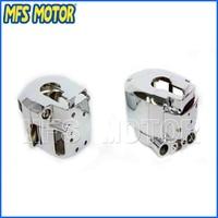 Freeshipping Motorcycle Parts Chrome Switch Housing Cover For Suzuki GSXR600 GSXR750 GSXR1000 Hayabusa GSXR1300