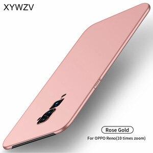 Image 3 - Pour Oppo Reno 10x étui de Zoom antichoc Silm luxe Ultra mince lisse étui de téléphone en pc couverture arrière pour Oppo Reno 10x Zoom Fundas