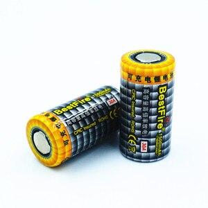 Image 2 - 2 adet En Iyi Ateş 1500 mAh 18350 3.7 V Li ion şarj edilebilir pil 30A Elektronik Sigara için Vape Mech Mod E Boru B012 araçları B025