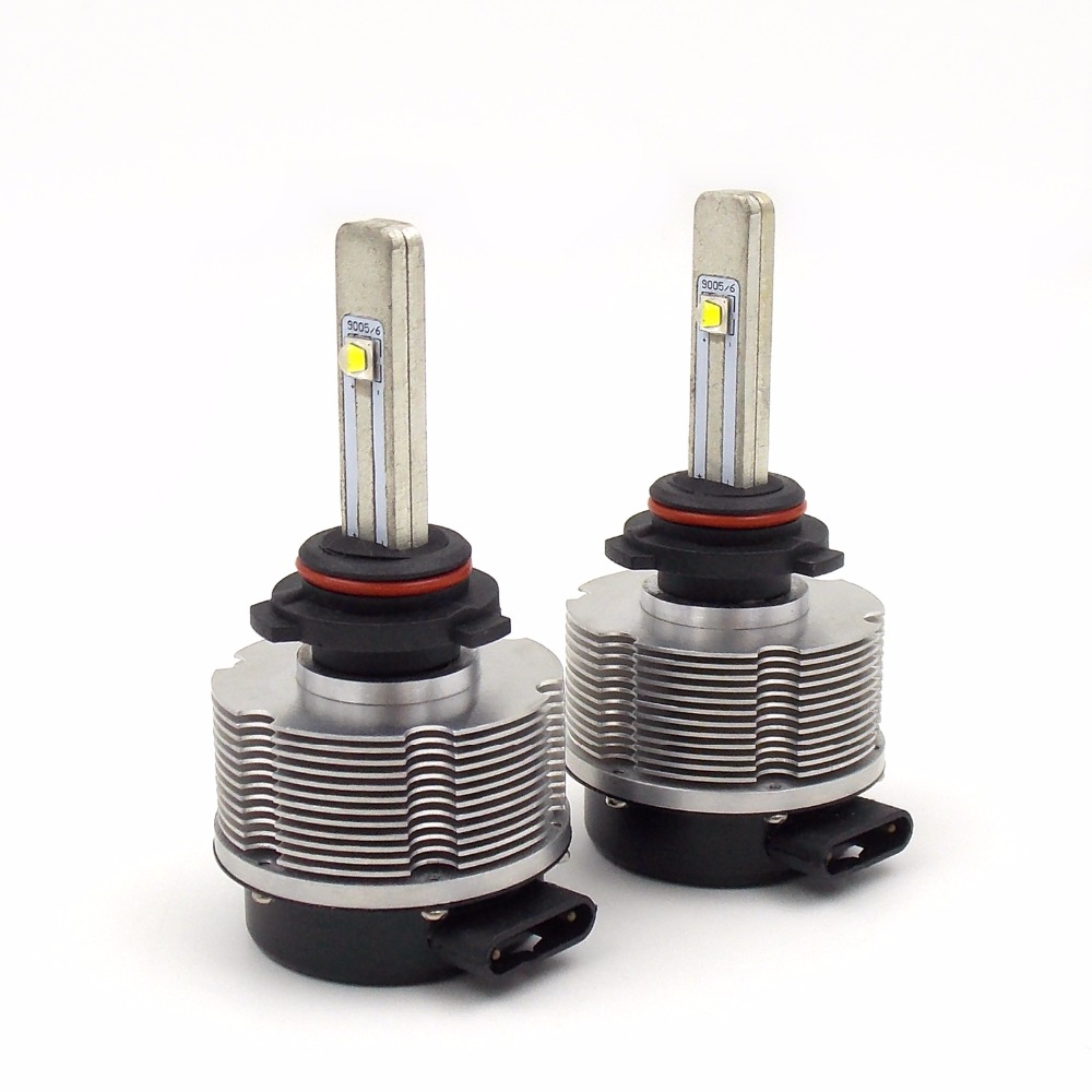High Quality Car LED Headlight Bulb Conversion Kit 9006 12V-24V 6000K 2400LM 20W Auto Head light Lamp (A pair) xiangshang 8000lm super bright car led headlight conversion kit hb4 9006 cree chips replacement auto head lamp bulb 3000k 4300k