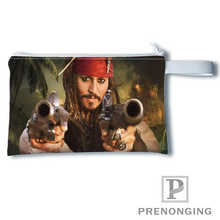 Custom johnny depp Printing Coin Purse Change Purse Zipper Zero Wallet Phone Key Bags Fashion Small Female Purse#19-01-22-6-277(China)
