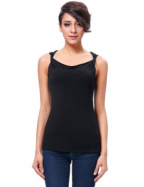 Mulher T camisa estilo bolero femme cowl neck torção cintas do tanque de algodão confortável de manga curta estilo sorean partes superiores das mulheres da moda