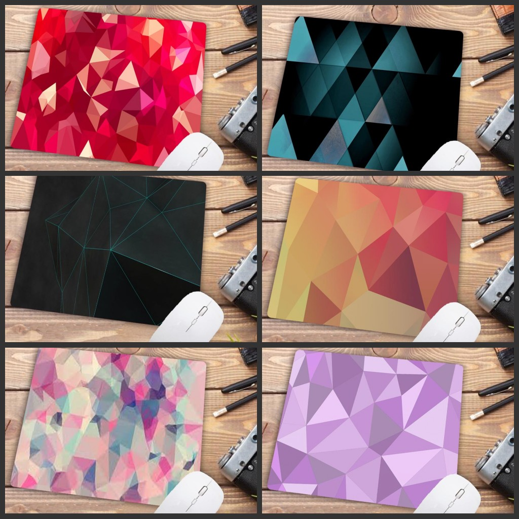 Mairuige Big Promotion Geometric Comfort Small Speed Mouse Mat Gaming Cheap Mouse Pad Size For 180x220x2mm  Small Mousepad