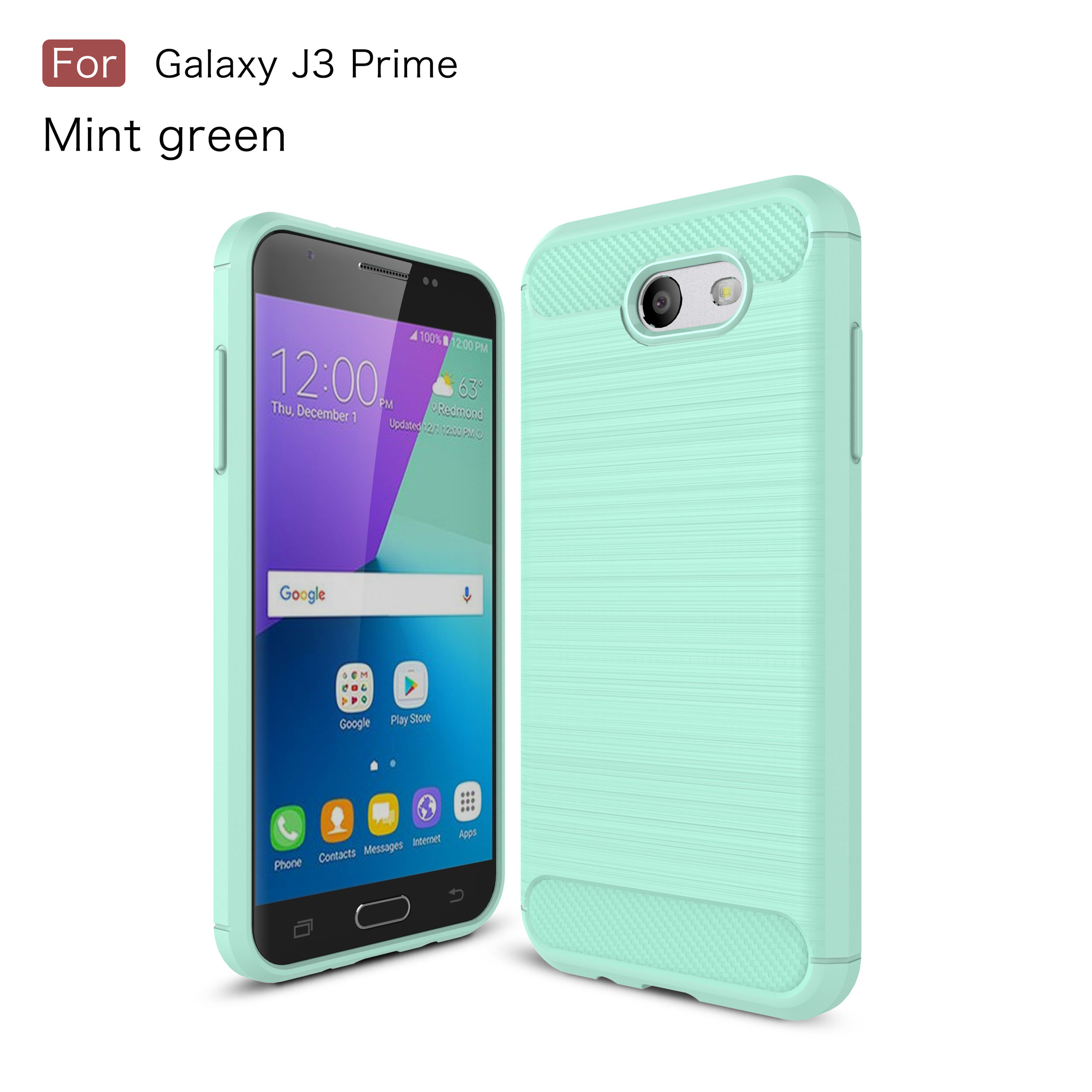 best sneakers 92e70 eb073 US $4.36 9% OFF|Cases for Samsung J327 Galaxy J3 Prime SM J327P J327A J327V  J327T Silicon phone Back Cover for Samsung sm j327 phone bag-in ...