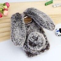 For Samsung Galaxy J3 J5 J7 2017 Emerge J327P Case Cute Rabbit Doll Plush Cover For