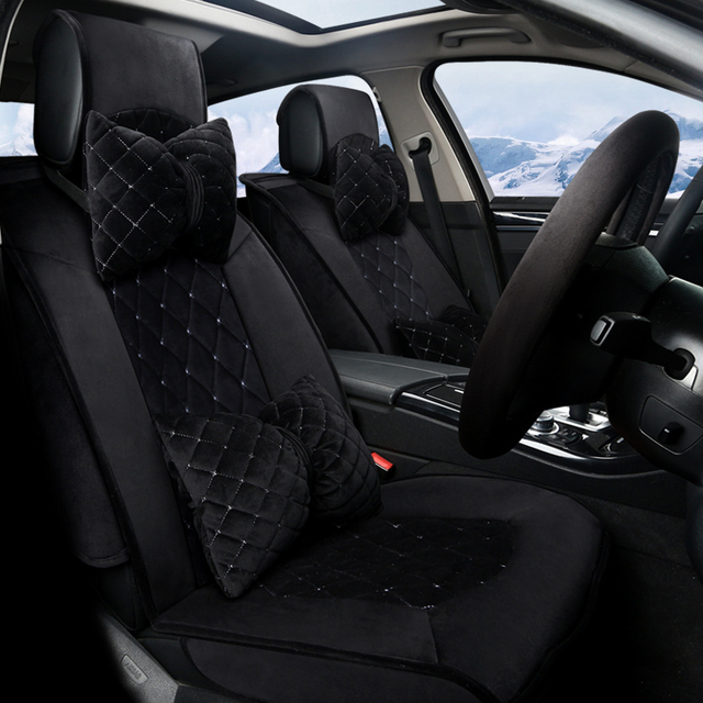 D Maiden Style Car Cushion All Enclosed Design Car Seat Covers For Ford Edge Escape