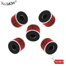 Xlsion 5 шт. масляные фильтры для Yamaha WR250 WR450 YZ250 XT250 YFZ450 YFZ450X YFM250 Raptor 140 YZ250F YZ450F HF KN140 байк