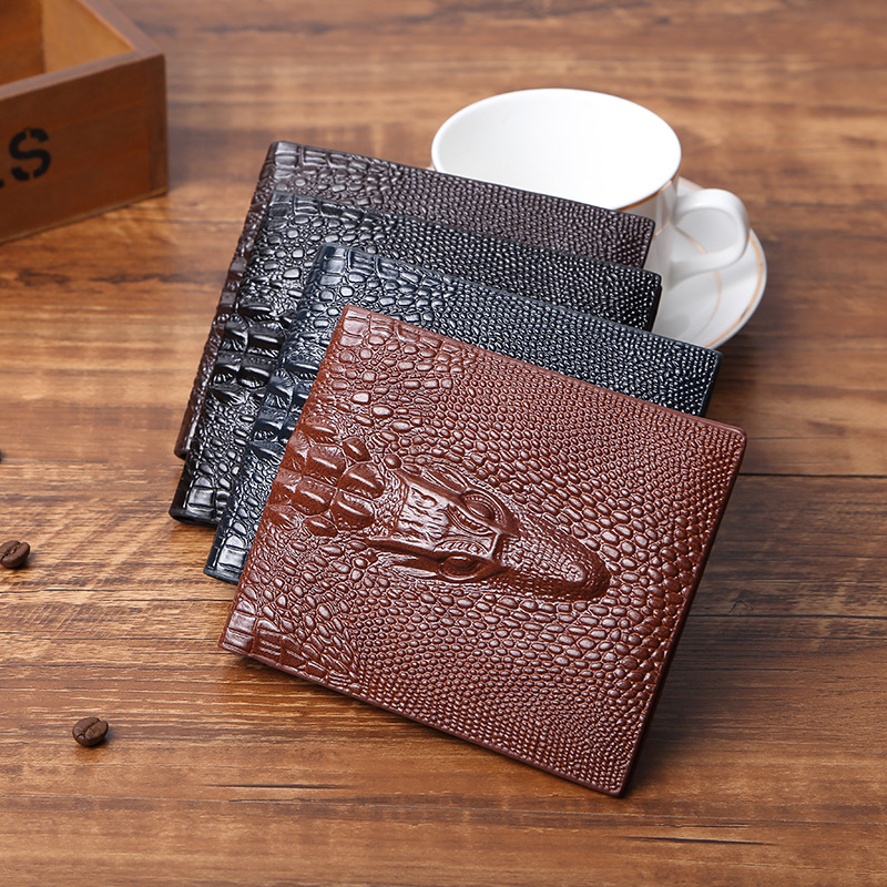 Short Wallet Card-Holder Slim Purse Coin Fashion Brand Luxury Men Top-Quality Casual
