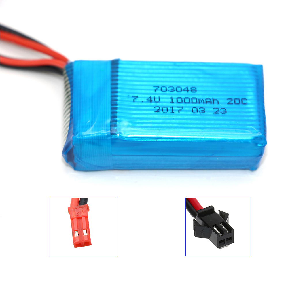 7.4V 1000mAh 20C Lion battery for WLtoys V912 / WLtoys V262 / WLtoys V353 battery WLtoys V333 battery 1pc 7 4v 1000mah li po battery for wltoys v262 v333 v353 v912 v915 ft007 devo4 mjx x600 rc helicopter hot sale