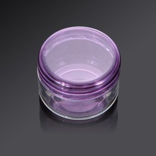 10Pcs 5g Cosmetic Empty Jar Pot Eyeshadow Makeup Face Cream Container Bottle Acrylic for Creams Skin Care Products makeup tool