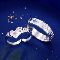 Detective Conan rings Wedding Couples Rings Bijouterie for Man or Woman Gift