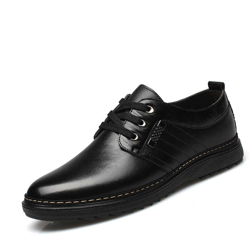 Nam Cho Nữ Lái Xe Đầm Giày Nam Form Rộng Phối Giày nam Da Giày Cưới Nam Giày Oxford Zapatos De hombre