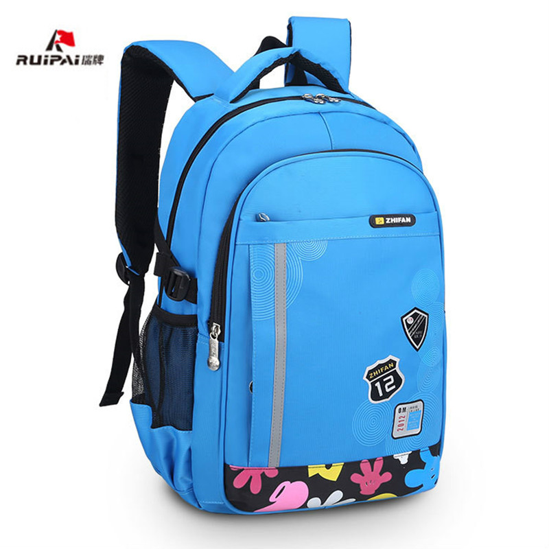 2018 Warterproof children school bags orthopedic backpacks School backpacks Boys&Girls Primary School Backpack kids schoolbag