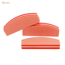 10pcs Orange Nail Buffers File For UV Gel Mini Buffing Blocks Polishing Strips Manicure Pedicure Sanding Art Tool