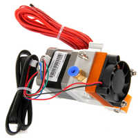 Geeetech Assembled MK8 extruder 1.75mm/3mm filament and 0.5mm/0.4mm/0.35mm/0.3mm nozzle for DIY and professional systems