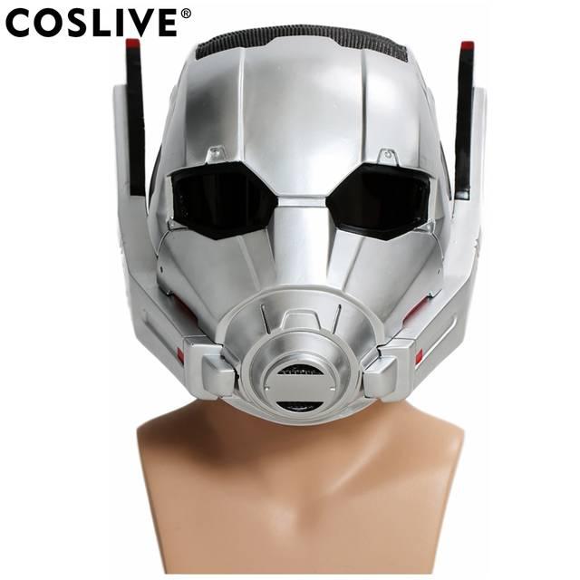 Capitão América Coslive 3 homem Capacete Máscara de Cabeça Cheia  homem-Formiga Formiga Filme Guerra 7b30e21674