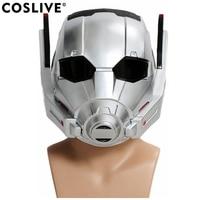 Coslive Captain America 3 Ant man Helmet Full Head Ant man Mask Movie Civil War New Version COSplay Halloween Prop