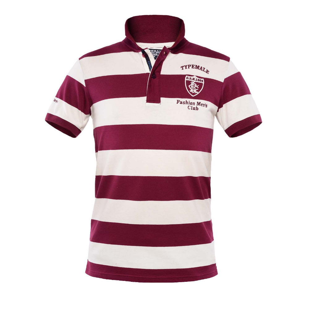 07f4d4f21e0 Mens Regular Fit Two Button British Club Striped Short Sleeve Cotton Polo  Rugby Shirt-in Polo from Men's Clothing on Aliexpress.com | Alibaba Group