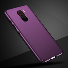 For Xiaomi Pocophone F1 Case Hard Plastic Luxury Back Covers Cases for