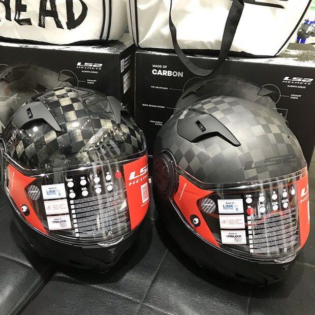 100% Genuino LS2 FF313 MOTOGP 24 K big lattice in fibra di carbonio super-run casco del motociclo degli uomini locomotiva auto da corsa anti -fog visiera