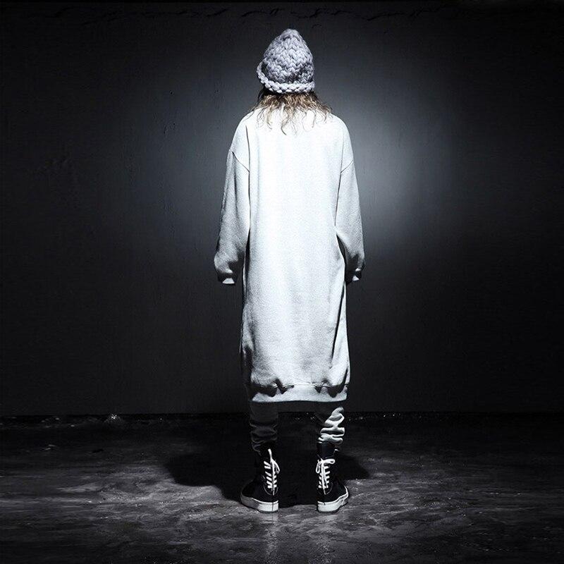 Tee wear uomini zip arrivo hop nuovo camicia linea con lungo modo