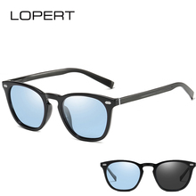 LOPERT Photochromic Polarized Sunglasses Men Women Aluminum Magnesium Driving Sun Glasses Brand Designer Unisex Travel Eyewear