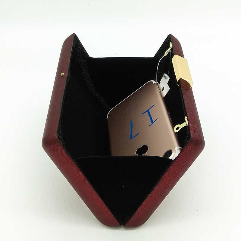 Бутик De FGG простой дизайн красный PU Женская Повседневная вечерняя сумка коробка клатч Кошелек вечерние Коктейльная Сумочка цепочка Сумка