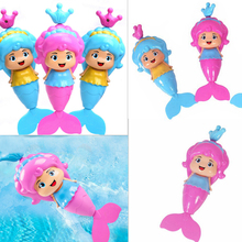 Dabbling-Bath-Toy Mermaid Wind-Up Water Swimming Baby Clockwork Cartoon Classic Educational-Learning-Toy