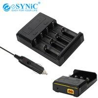 eSYNiC Nitecore i4 Battery Charger Intellicharge Current Short Protection IMR Ni MH/Ni CD Li ion18650 16340 10440 AA AAA 14500