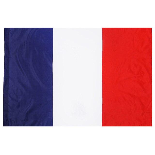 Nuovi Piedi Grande Poliestere Bandiera Francese La Francia Bandiere