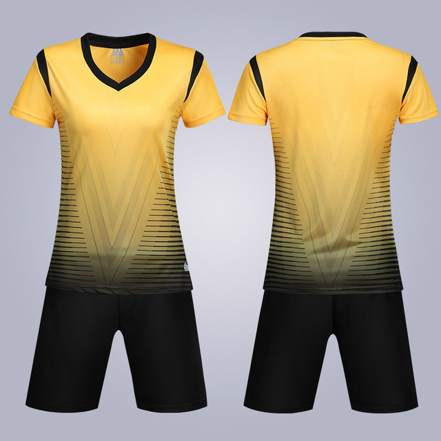 Women football jerseys sporting sportswear 2019 New Volleyball Jersey Suits Uniforms Jogging Clothing sets custom Name Number