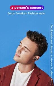 Image 5 - Dikdoc Bluetooth earphone in ear handfree HiFi top sound quality wireless earbuds mega bass 1500mAh power box TWS earhone