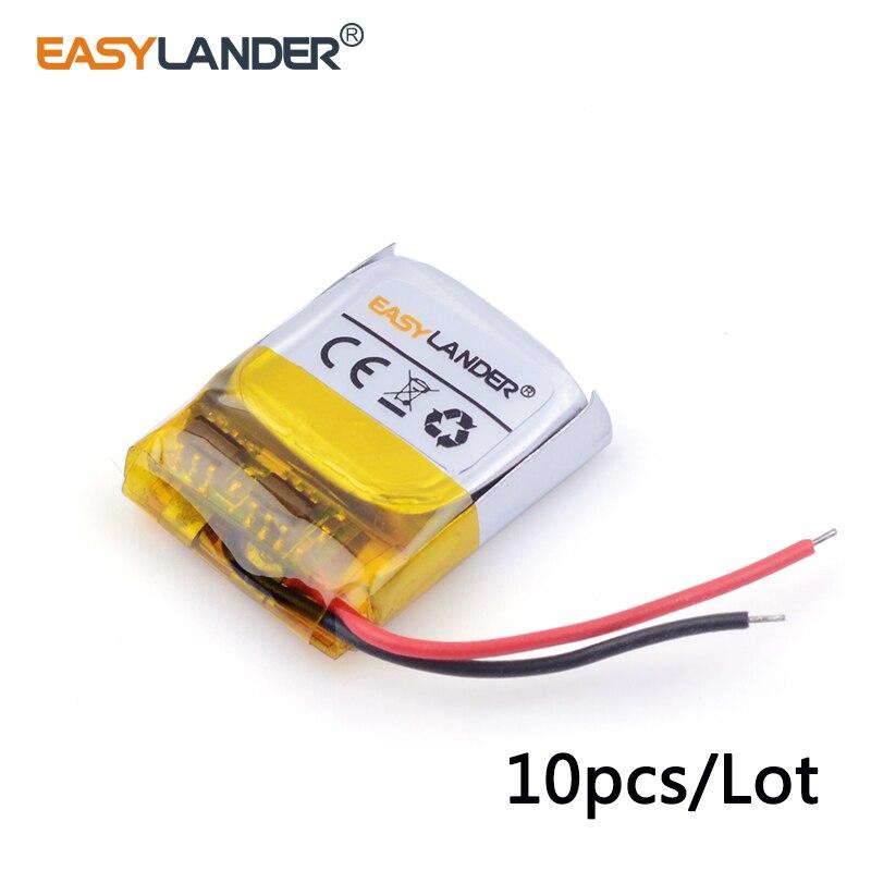 10 шт./лот 3.7 В литий-ионный полимерный аккумулятор 401515 50 мАч для MP3/4/5 <font><b>Bluetooth</b></font> домофон <font><b>battery</b></font> <font><b>Monitor</b></font> 041515