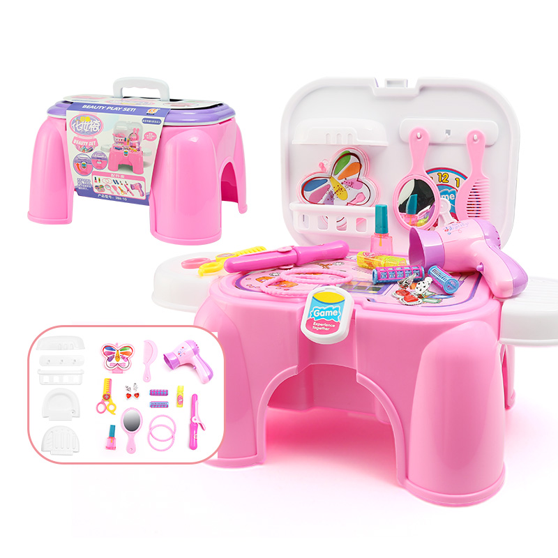 Child furniture toys set baby girl simulation make up toy set girl ...
