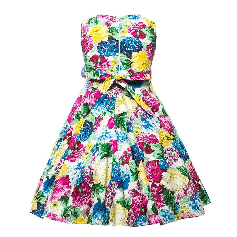 Cielarko Qızlar Yay Uşaqlar Çiçək paltarları Qolsuz Uşaqlar - Uşaq geyimləri - Fotoqrafiya 2