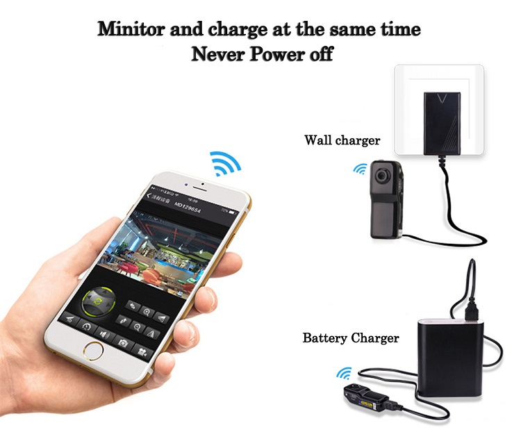 Volemer Mini Camera Security DV Wifi IP Wireless Cam Secert Micro Candid Small Camcorder Digital Infrared Mini Recorder Candid