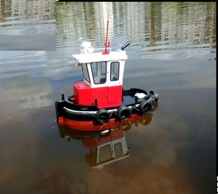 NIDALE نموذج مقياس 1/18 دفع عارض قوارب كيت محاكاة الكهربائية نموذج باخرة الإنجليزية كتيبات-في مجموعات البناء النموذجي من الألعاب والهوايات على  مجموعة 2