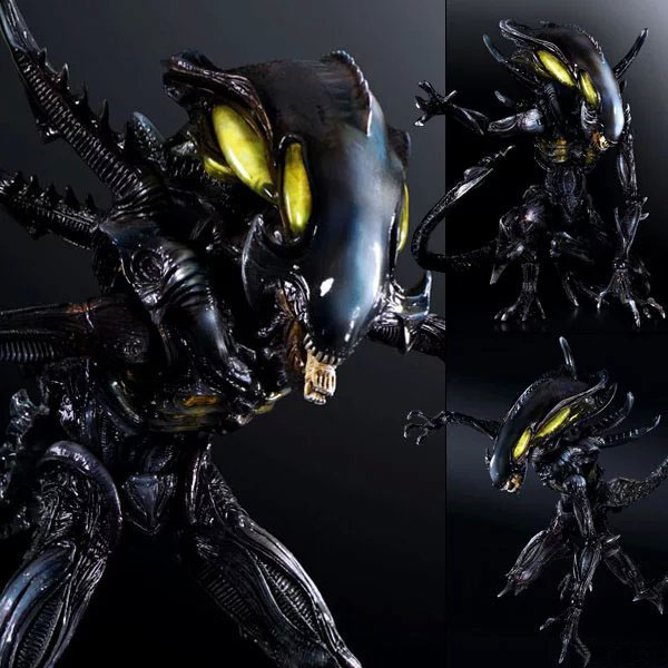 Free Shipping 10 PA KAI Aliens Colonial Marines NO.2 Spitter Boxed 25cm PVC Action Figure Collection Model Doll Toy Gift original aliens colonial marines quintero