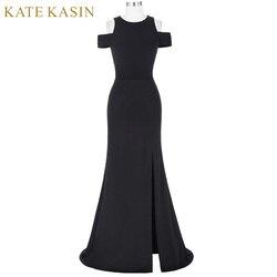 Kate kasin women black prom dresses 2017 vestido de festa cap sleeve cocktail dress long prom.jpg 250x250
