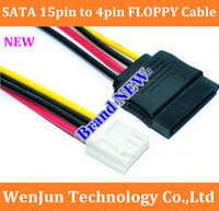 Free Shipping SATA 15pin Female to 4pin Female ITX SATA power coble 20cm FLOPPY disk/FLOPPY SATA power cord