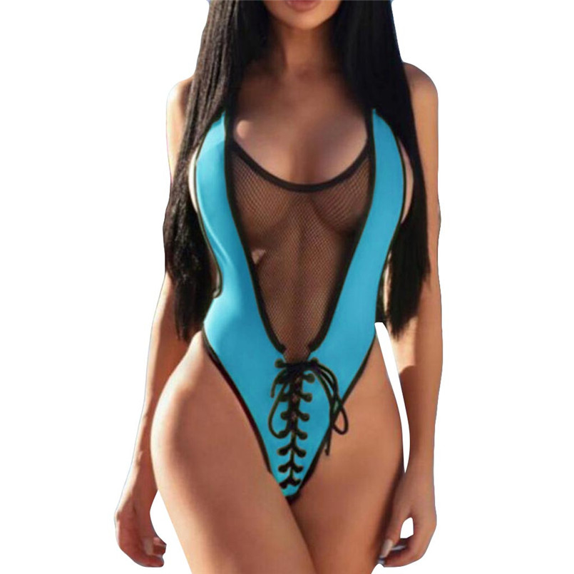 Lace Sport Suit In Solid Colour Women Push-up Padded Bra Beach Off-shoulder Sexy Womens One Piece Fashion Beachwear 40ja25 Delicious In Taste Women's Intimates