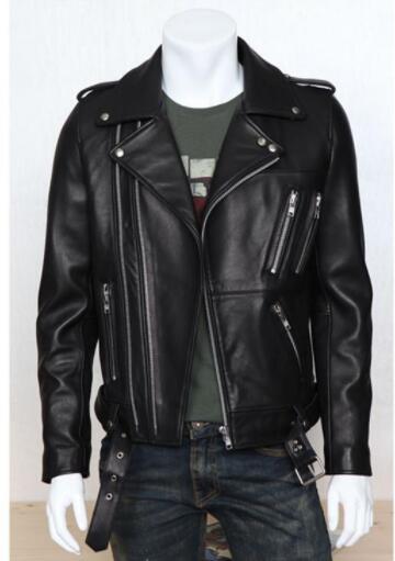 100% Wahr 2018 Herbst Winter Revers Multi-zip Niet Epauletten Motorrad Jacke Straße Punk Stil Herren Pelz Jacke Pu Leder Jacke