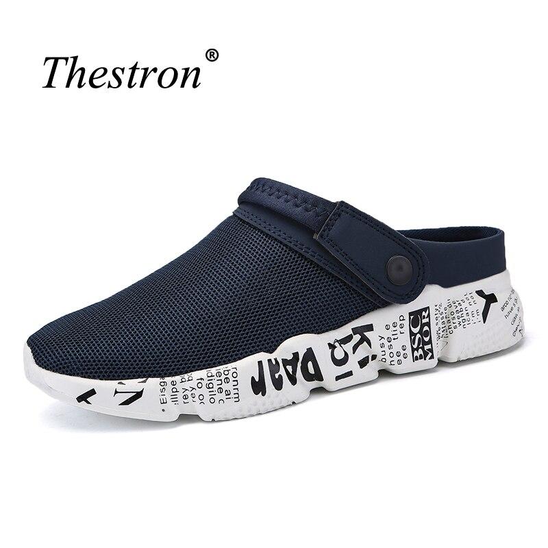 2018 Big Size Flip Flops Men Sandals Summer Slippers Lightweight Comfortable Home Sandals For Men Cheap Sneakers