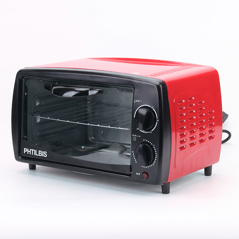 Household Electric Oven Food Roaster Multifunction Toast Chicken Wings Pizza Cake Appointment Timing Temperature Control