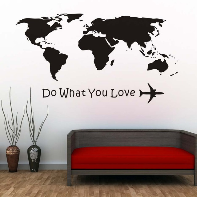 Do What You Love Diy Wall Sticker Motto Proverbs Removable Wall