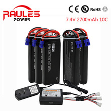 7.4v helicopter battery Hubsan H501S X4 RC Quadcopter Spare Parts 7.4V 2700mAh 10C Battery H501S-14