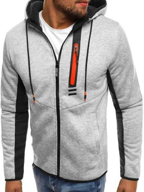 ZOGAA Brand Autumn Fashion Coat Men Zipper hooded Jackets and Coats Casual Cotton Hoodies Sweatshirts For Man Clothes 2018 1