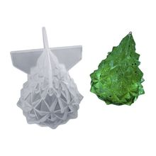 Silicone Mold DIY Light Holder Christmas Tree Bedroom Lamp Container Molds  Handmade Crafts Charms Jewelry Making Tools