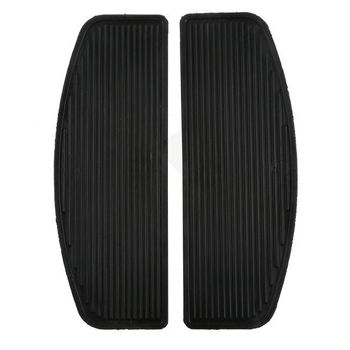 Motorcycle Front Passenger Rider Insert Floorboard Footpeg Footrest Pad For Harley Touring Road King Glide Ultra Classic